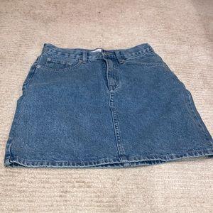 Assembly Label Jean skirt size 8